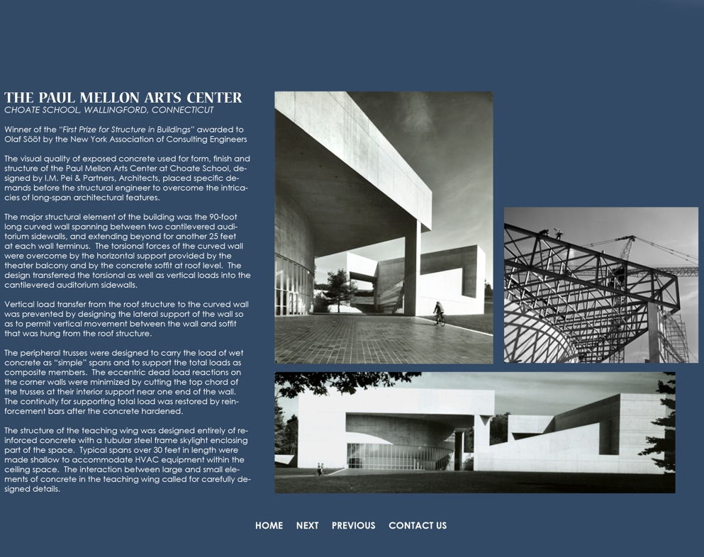 Olaf Sööt Design, LLC: Paul Mellon Arts Center
